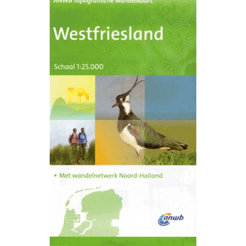 ANWB Topografische wandelkaart Westfriesland