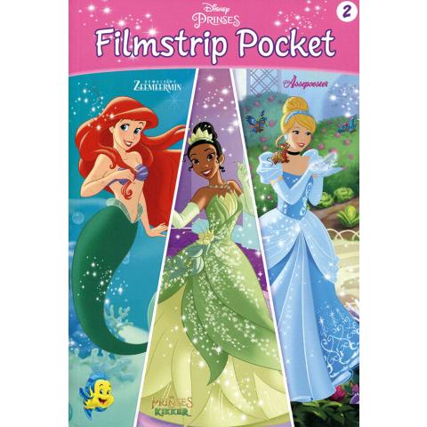 Disney Filmstrip Pocket Zeemeermin, Prinses & Assepoester