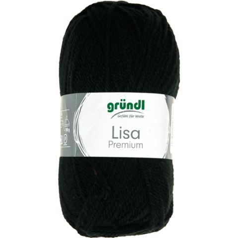 Lisa premium zwart 50 gram