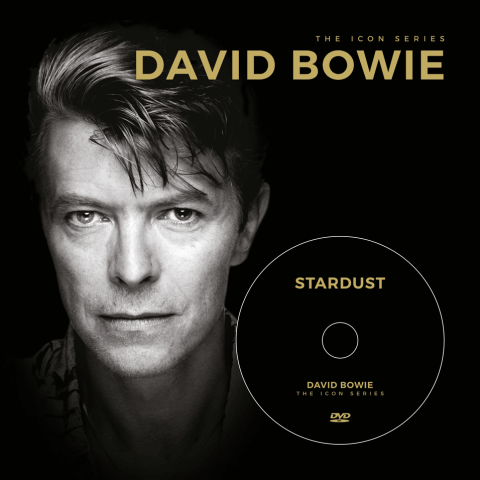 The Icon Series: David Bowie (boek+dvd)