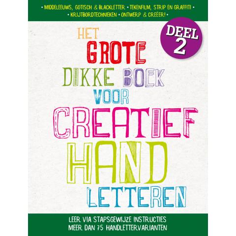 Het grote dikke boek voor fantastisch creatief handletteren 2