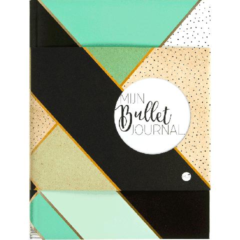 Mijn bullet journal mint & goud