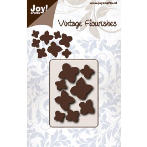 Joy snijmal vintage flourishes hydrangea