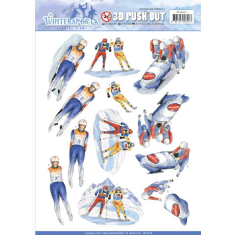 3D push out biathlon wintersports