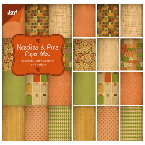 Joy papierblok needles & pins