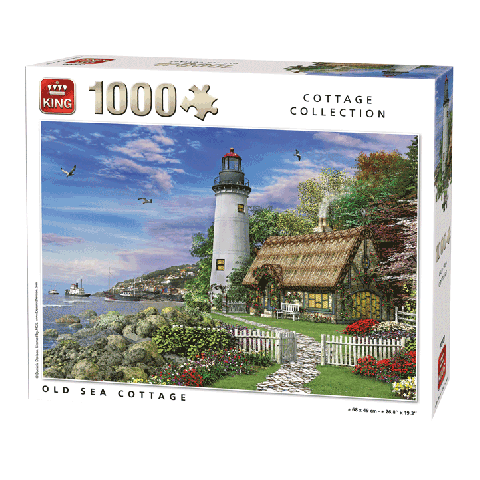Puzzel Old Sea Cottage (1000 stukjes)