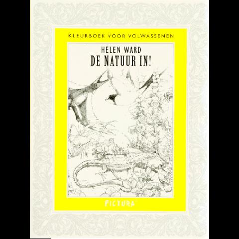 Kleurboek voor volwassenen - De natuur in!