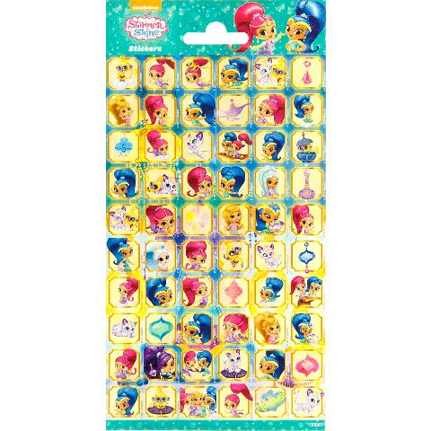 Sticker sheet paper Shimmer & Shine