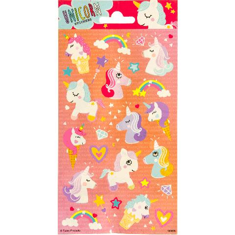 Sticker Sheet paper unicorns