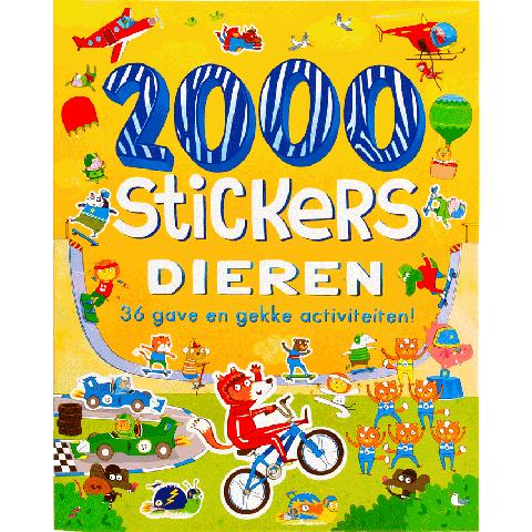 2000 stickers dieren