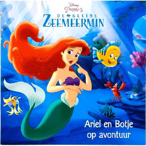 De kleine zeemeermin, Ariel en Botje op avontuur