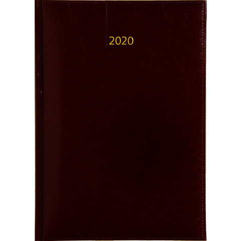 Business timer bureau agenda 2020 bordeaux nr 107 kleur 331