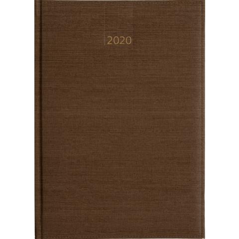 Business timer bureau agenda 2020 bruin nr 106 Taupe