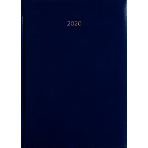 Weektimer agenda A4 2020 lichtblauw nr 254