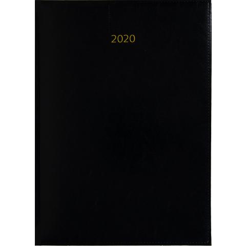 Weektimer agenda A4 2020 zwart nr 250