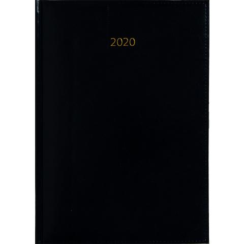Weektimer agenda A5 2020 zwart nr 200