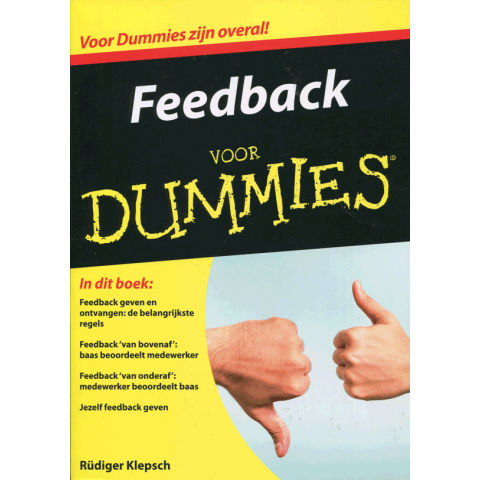 Feedback voor dummies