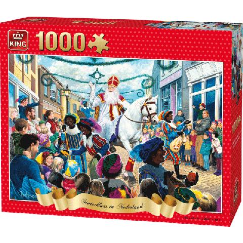 Puzzle Sinterklaas (1000 pcs) 2018