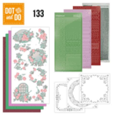 Dot and do 133 Vogels en bloemen