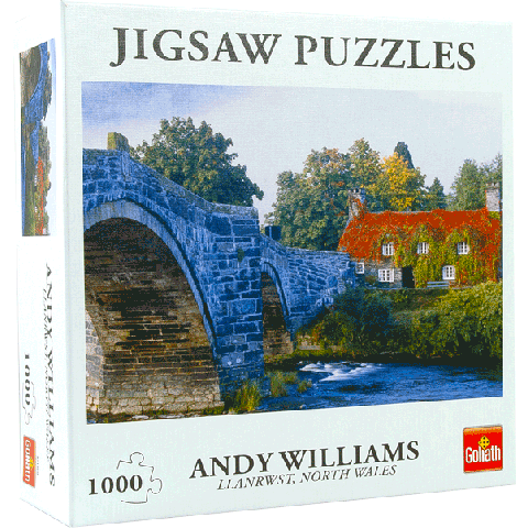 Puzzel Llanwrst North Wales (1000 stukjes)