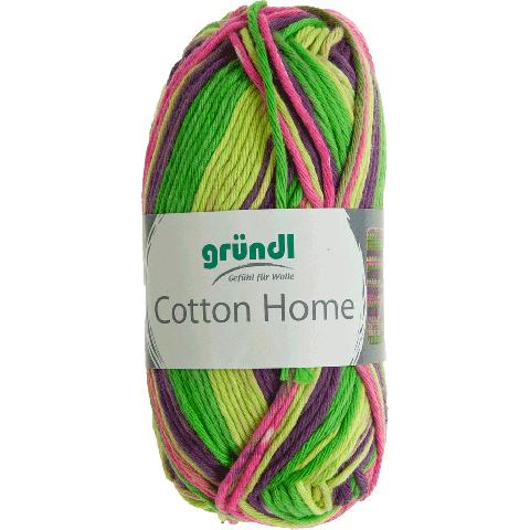 Cotton home 01 groen paars roze 50gr