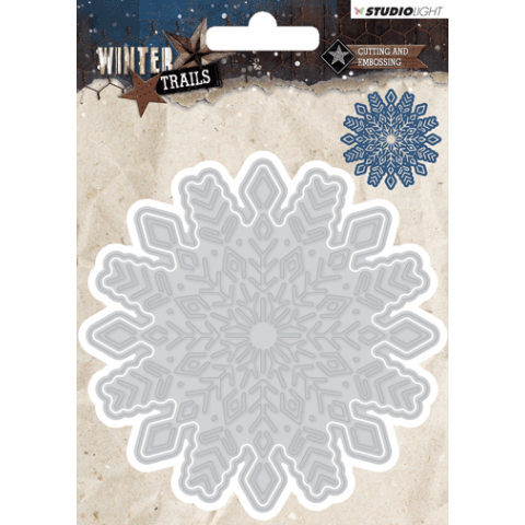 WINTER TRAILS SNIJMAL 100X100MM NR 103 SNOWFLAKE