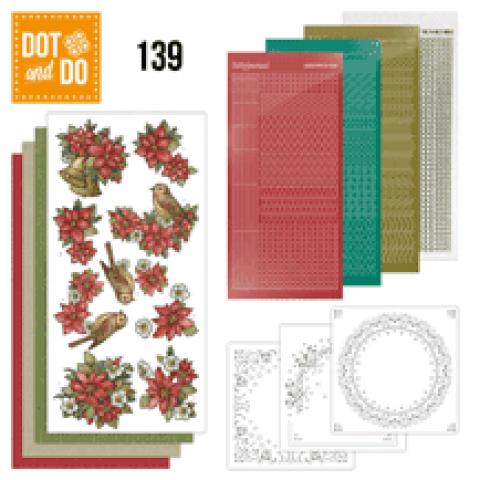 Dot en Do 139 Poinsettia Christmas