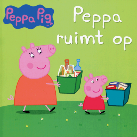 Peppa ruimt op