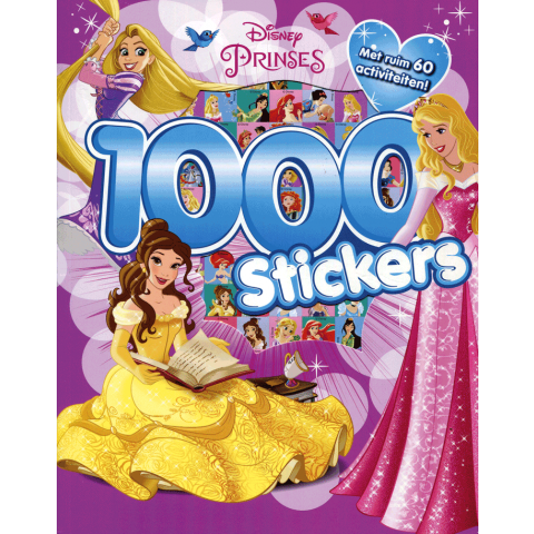 Disney Prinses 1000 stickers