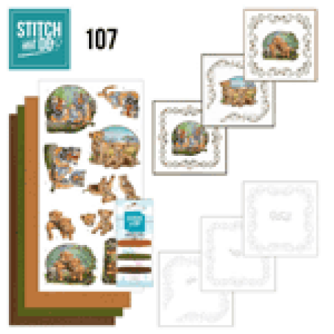 Stitch & Do 107 Wild Animals