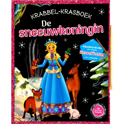 Krabbel- Krasboek De Sneeuwkoningin