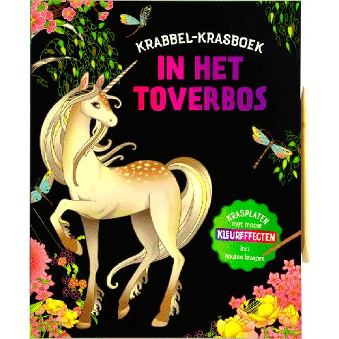 Krabbel-krasboek In het toverbos