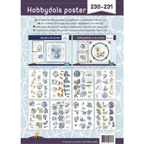 Poster bij hobbydols 230-231