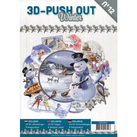 3D uitdrukvellenboek 12 winter