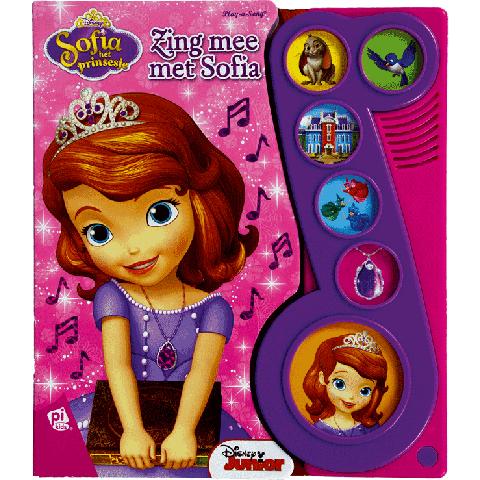 Geluidboek, Sofia het prinsesje