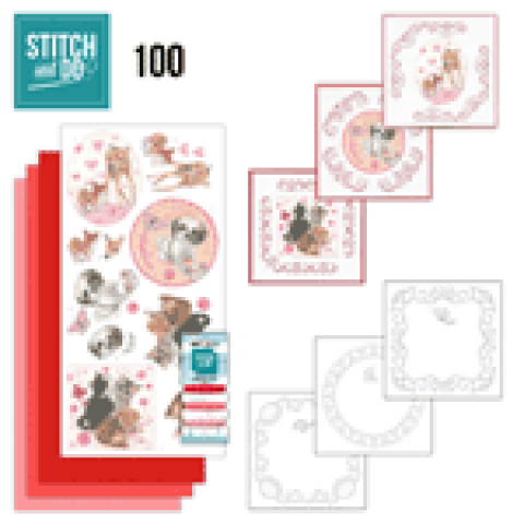 Stitch & Do 100 playful pets