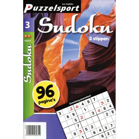Puzzelsport sudoku 2 stippen nr. 3