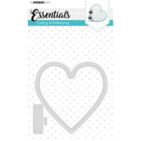 Snijmal essentials ticketmal nr 166 hart 140x137mm