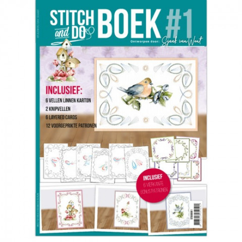 Stitch and do A6 boek 1