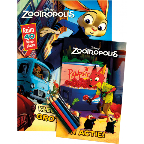 Disney zootropolis activity pack