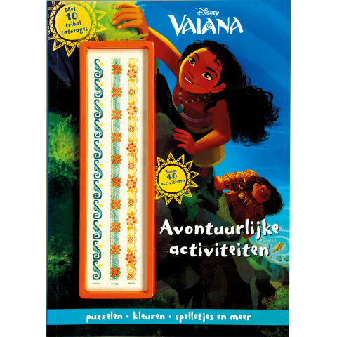 Disney vaiana activity pack