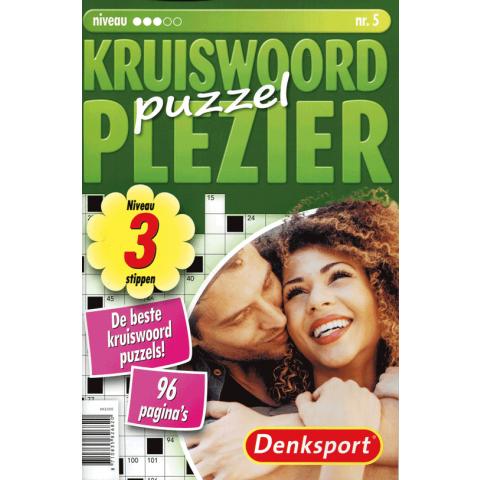 Denksport kruiswoord plezier puzzel 3 stippen nr. 5