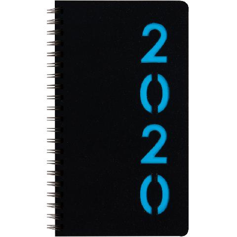 Zakagenda wire-o 2020: lichtblauw (427)