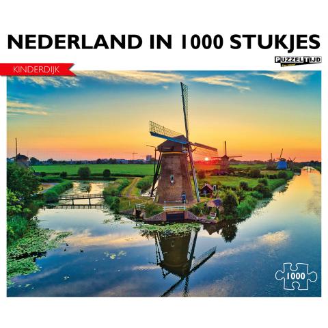 Puzzel Kinderdijk (1000 stukjes)