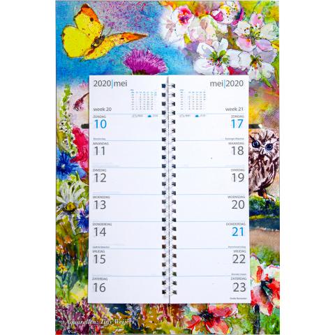 Omleg weekkalender 2020 Tiny Weijers