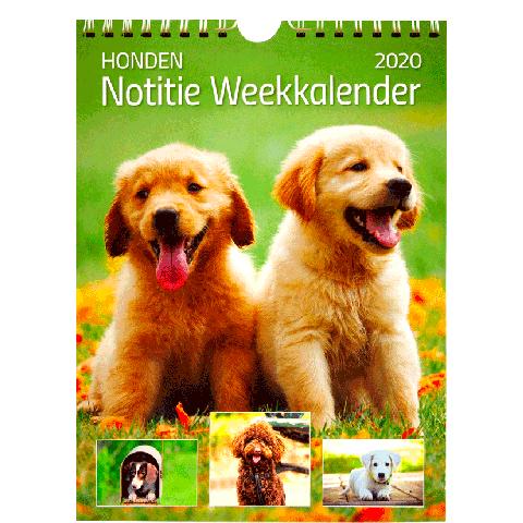 Weekkalender 2020 Hond