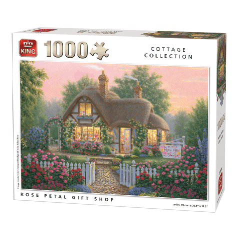 Puzzle Rose Petal Gift Shop 1000 pcs