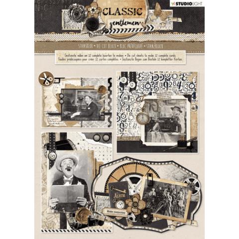 Stansblok A4 classic gentleman nr80