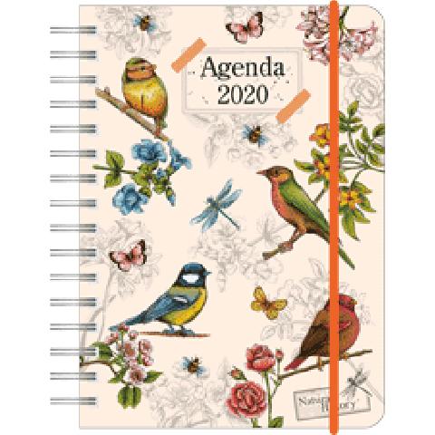Agenda 2020 10,5 x 14,5 Birds