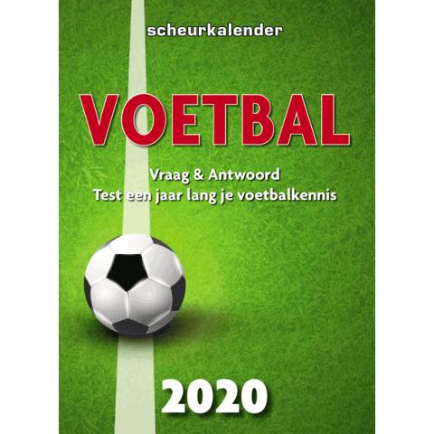 Scheurkalender 2020: Voetbal